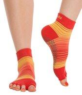 Toesox Ankle Length Half-Toe Grip Socks