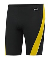 Sporti Polyester Piped Splice Swim Jammer