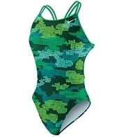 Nike Swim Tech Camo Spider Back Tank