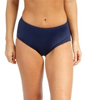 Beach House Solid High Waisted Bikini Bottom