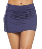 Beach House Solid Swim Skirt