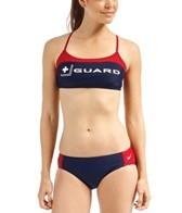Nike Swim Lifeguard Sport Top 2PC