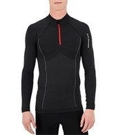 Salomon Men's Exo Motion 1/2 Zip Long Sleeve Running Tee