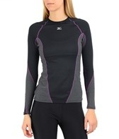 Mizuno Women's Breath Thermo Stretch Running Crew
