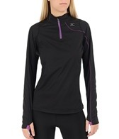 Mizuno Women's Aero Breath Thermo Wind Running Top