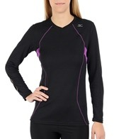 Mizuno Women's Breath Thermo Running V-Neck
