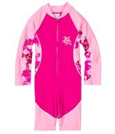 Tuga Girls' High Tide L/S Sunsuit One Piece (3mos-7yrs)