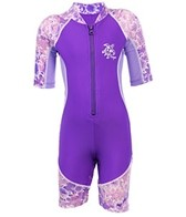 Tuga Girls' Low Tide S/S Sunsuit One Piece