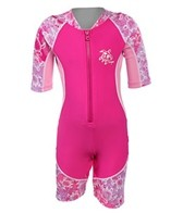 Tuga Girls' Low Tide S/S Sunsuit One Piece (3mos-7yrs)
