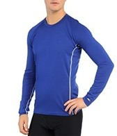 Icebreaker Men's Oasis Crewe Long Sleeve Running Top
