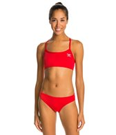 The Finals Endurotech Women's Endurotech Solid Butterfly Back Workout Bikini Swimsuit
