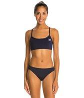The Finals Endurotech Women's Endurotech Solid Butterfly Back Workout Bikini Swimsuit