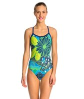 HARDCORESPORT Women's Topography X-Back One Piece Swimsuit
