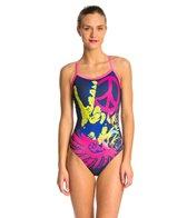 HARDCORESPORT Women's Peace X-Back One Piece Swimsuit