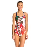 HARDCORESPORT Women's Cali Back One Piece Swimsuit