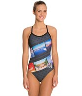 HARDCORESPORT Women's Roadtrip X-Back Drag One Piece