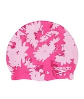 Speedo Graphic Daisy Swim Cap