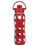 Lifefactory 22 oz Flip Top Cap Glass Waterbottle