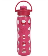 Lifefactory 22 oz Flip Top Cap Glass Waterbottle