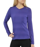 Saucony Women's LX V-Neck Long Sleeve Top