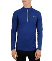 Mountain Hardwear Men's Elmoro Long Sleeve Running Zip-T