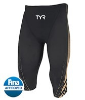 TYR AP12 Men's Credere Compression Speed High Short Tech Suit Swimsuit