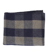 Hugger Mugger Plaid Wool Yoga Blanket