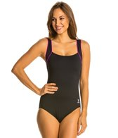 TYR Pink Square Neck Controlfit
