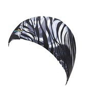 The Finals Funkies Zebra Shine Swim Cap