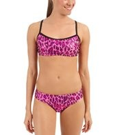 The Finals Funkies Pink Leopard 2 Piece Bikini