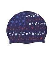 sporti-starry-flag-silicone-swim-cap