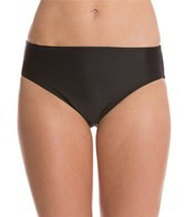 Aerin Rose Basic High Waist Brief Bikini Bottom