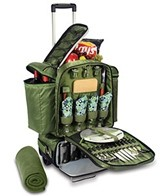 Picnic Time Excursion Picnic Cooler Trolley For Four