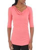 Anue Women's Chai 3/4 Sleeve Yoga Top