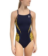 TYR Check Splice Diamondfit One Piece Swimsuit