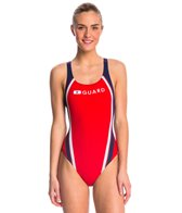 Speedo Guard Quark Splice Pulse Back One Piece