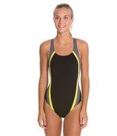 Speedo Quark Splice Pulse Back Swimsuit