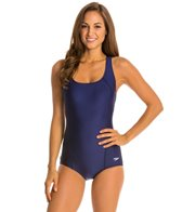 Speedo Conservative Ultraback One Piece with Princess Seam