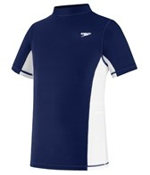 Speedo Unisex Short Sleeve Rashguard (7yrs-16yrs)