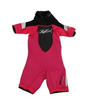 Rip Curl Girl's Dawn Patrol 2 MM S/S Spring Wetsuit
