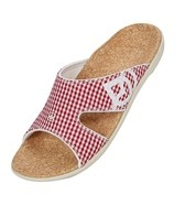 Spenco Women's Gingham Kholo Slide