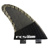 FCS H3 Nexus Tri Fin Set - Medium