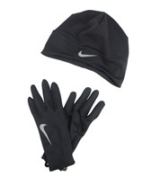 Nike Women's Running Dri-Fit Beanie/Glove Set