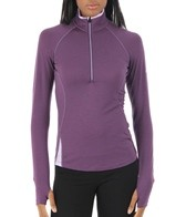 Icebreaker Women's Bolt Long Sleeve Running Zip