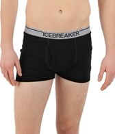 Icebreaker Men's Running Boxer Briefs W/ Fly