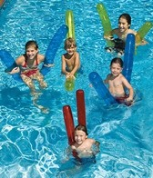 Swimline 72 Inflatable Pool Noodles (6 pack)