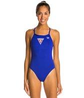 The Finals Lifeguard Skimp Back One Piece Swimsuit