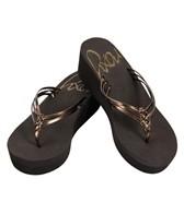 Roxy Girls Palmilla Wedge Flip Flop