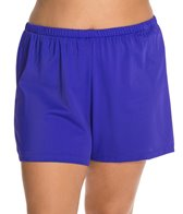 Maxine Plus Size Solid Jogger Short