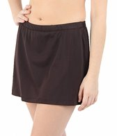 Maxine Solid Swim Skirted Pant